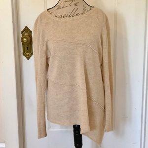 Cullen Asymmetrical Cashmere Sweater XL
